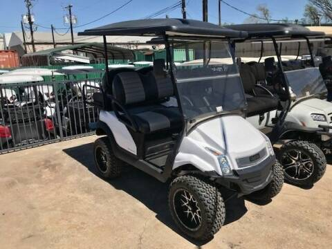 2017 Club Car 4 Passenger Electric Lift LX for sale at METRO GOLF CARS INC in Fort Worth TX