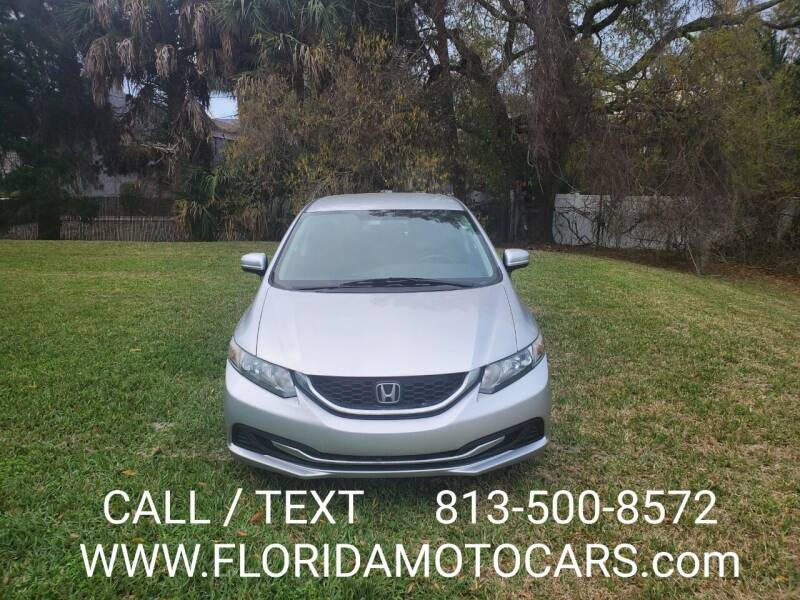 2015 Honda Civic for sale at Florida Motocars in Tampa FL