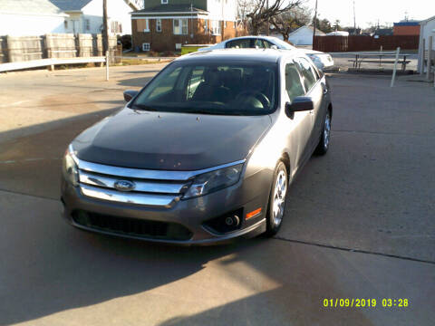 2010 Ford Fusion for sale at Fred Elias Auto Sales in Center Line MI
