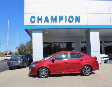 2020 Chevrolet Sonic for sale at Champion Chevrolet in Athens AL