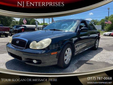 2003 Hyundai Sonata for sale at NJ Enterprises in Indianapolis IN
