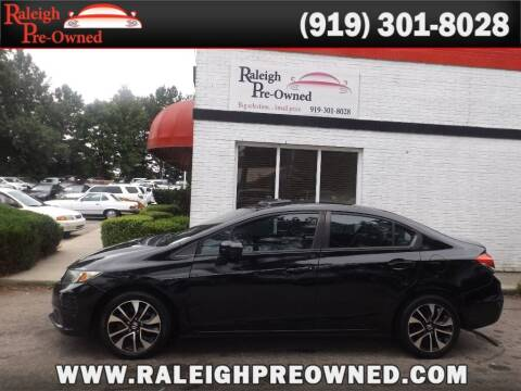 2014 Honda Civic for sale at Raleigh Pre-Owned in Raleigh NC
