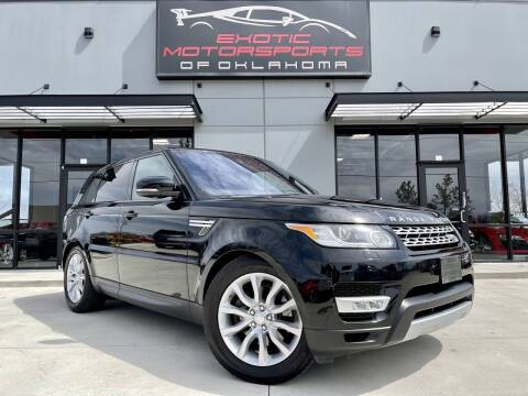 2017 Land Rover Range Rover Sport for sale at Exotic Motorsports of Oklahoma in Edmond OK