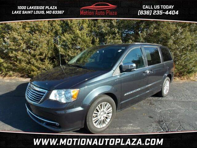 2013 Chrysler Town and Country for sale at Motion Auto Plaza in Lakeside MO