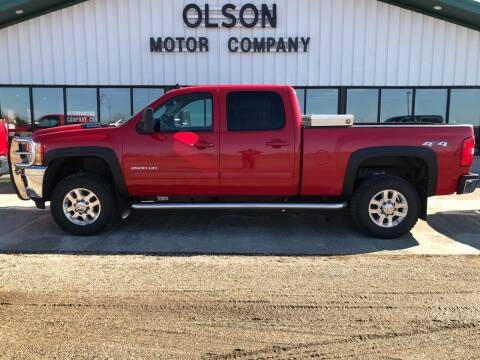 2011 Chevrolet Silverado 2500HD for sale at Olson Motor Company in Morris MN