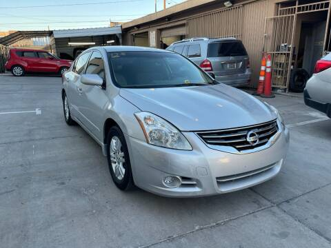 2012 Nissan Altima for sale at CONTRACT AUTOMOTIVE in Las Vegas NV