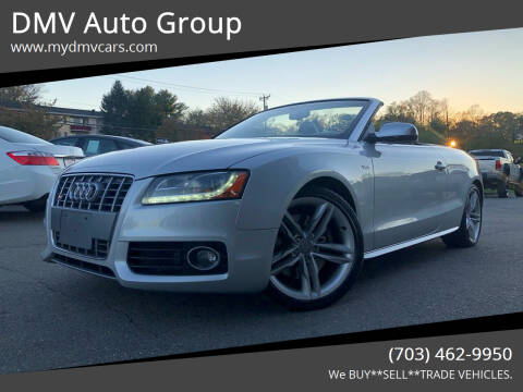 2011 Audi S5 for sale at DMV Auto Group in Falls Church VA