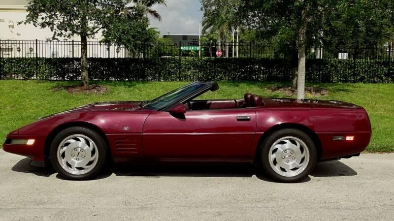 1993 Chevrolet Corvette for sale at Premier Luxury Cars in Oakland Park FL