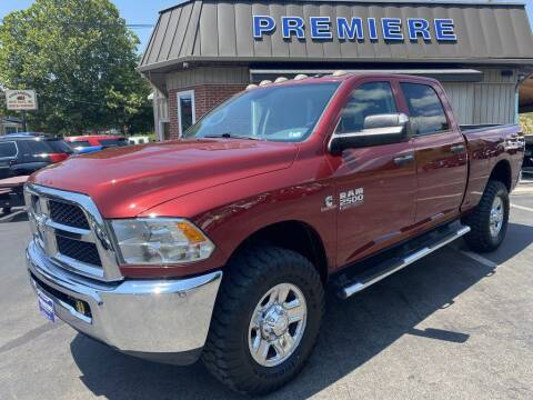 2014 RAM Ram Pickup 2500 for sale at Premiere Auto Sales in Washington PA