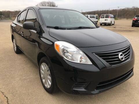 2014 Nissan Versa for sale at Prime Auto Sales in Uniontown OH