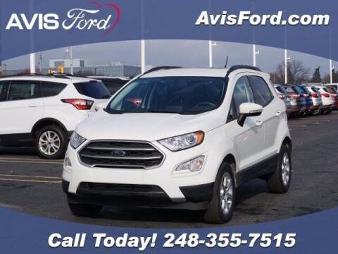 2020 Ford EcoSport for sale at Work With Me Dave in Southfield MI