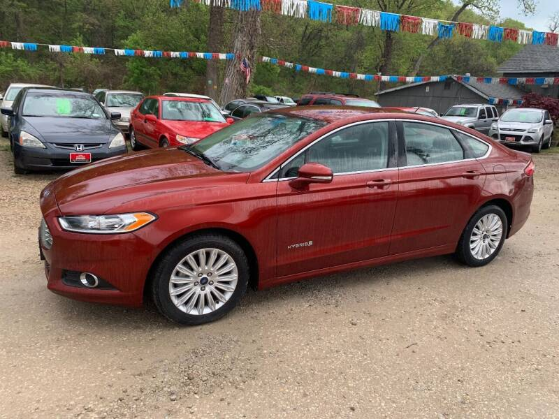 2014 Ford Fusion Hybrid for sale at Korz Auto Farm in Kansas City KS