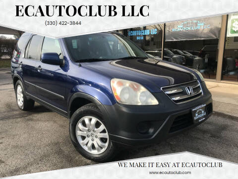 2005 Honda CR-V for sale at ECAUTOCLUB LLC in Kent OH