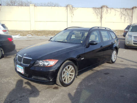 2007 BMW 3 Series for sale at Metro Motor Sales in Minneapolis MN