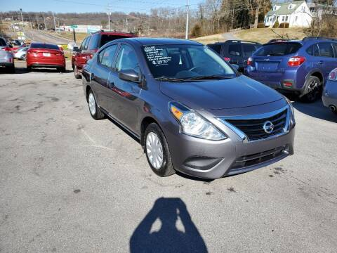 2018 Nissan Versa for sale at DISCOUNT AUTO SALES in Johnson City TN
