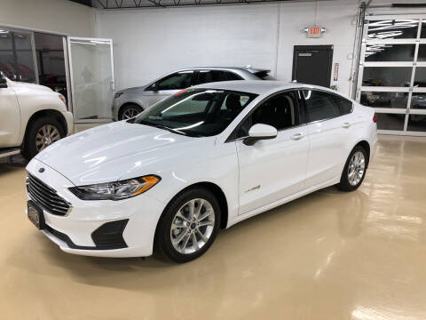 2019 Ford Fusion Hybrid for sale at Fox Valley Motorworks in Lake In The Hills IL