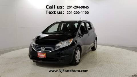 2016 Nissan Versa Note for sale at NJ State Auto Used Cars in Jersey City NJ