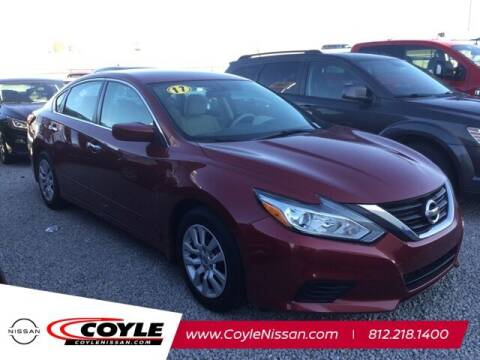 2017 Nissan Altima for sale at COYLE GM - COYLE NISSAN - Coyle Nissan in Clarksville IN