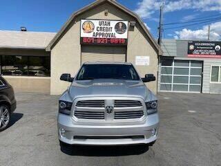 2013 RAM Ram Pickup 1500 for sale at Utah Credit Approval Auto Sales in Murray UT