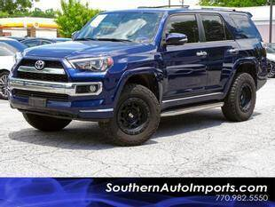 2016 Toyota 4Runner for sale at Used Imports Auto - Southern Auto Imports in Stone Mountain GA
