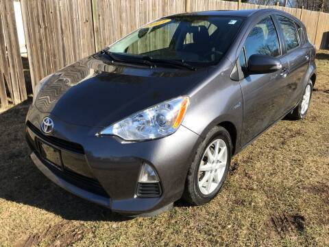 2013 Toyota Prius c for sale at ALL Motor Cars LTD in Tillson NY