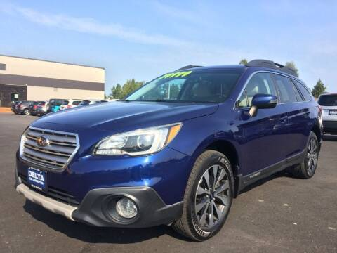 2015 Subaru Outback for sale at Delta Car Connection LLC in Anchorage AK