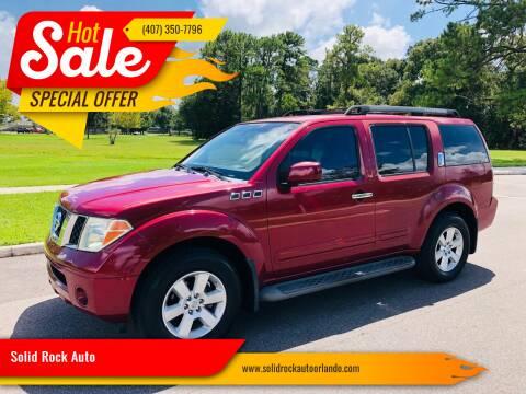 Nissan Pathfinder For Sale In Orlando Fl Solid Rock Auto Sale Orlando