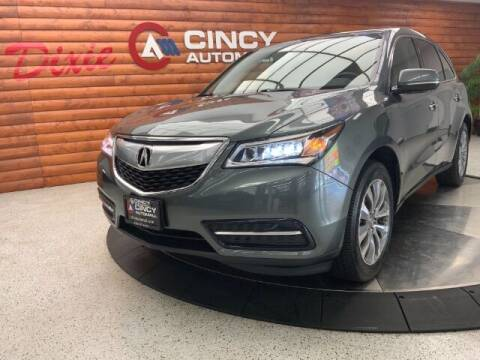 2015 Acura MDX for sale at Dixie Motors in Fairfield OH