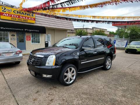 2008 Cadillac Escalade for sale at 2nd Chance Auto Sales in Montgomery AL