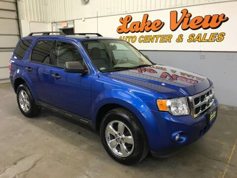 2012 Ford Escape for sale at Lake View Auto Center in Oshkosh WI
