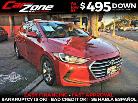 2017 Hyundai Elantra for sale at Carzone Automall in South Gate CA
