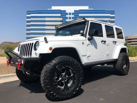 2015 Jeep Wrangler Unlimited for sale at Day & Night Truck Sales in Tempe AZ