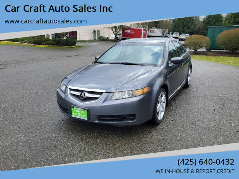 2005 Acura TL for sale at Car Craft Auto Sales Inc in Lynnwood WA