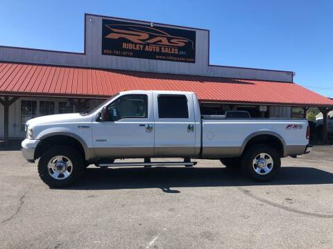 2005 Ford F-350 Super Duty for sale at Ridley Auto Sales, Inc. in White Pine TN
