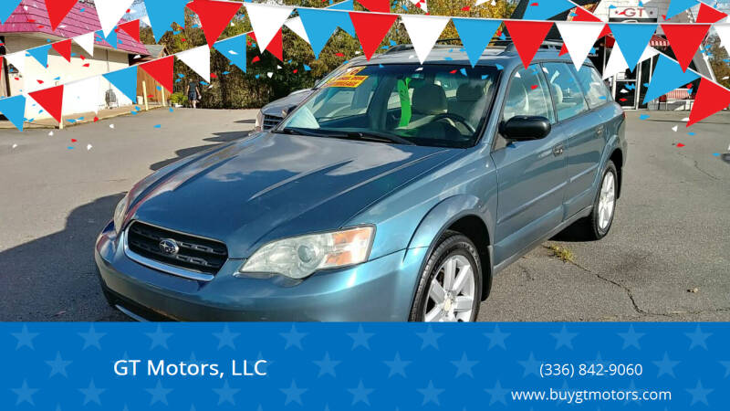 2006 Subaru Outback for sale at GT Motors, LLC in Elkin NC