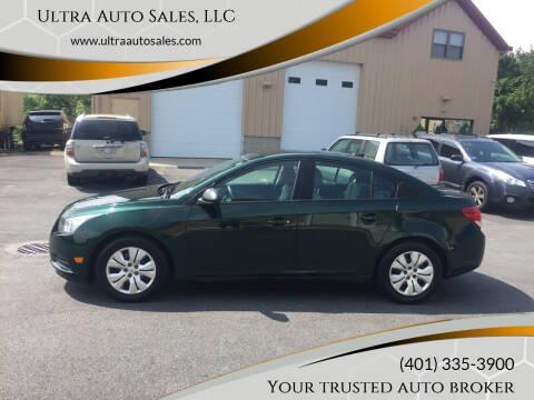 2014 Chevrolet Cruze for sale at Ultra Auto Sales, LLC in Cumberland RI