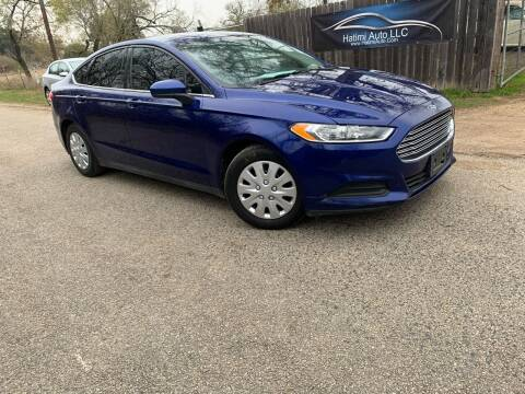 2013 Ford Fusion for sale at Hatimi Auto LLC in Buda TX