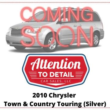 2010 Chrysler Town and Country for sale at Attention to Detail - Car Sales, LLC in Ogden UT