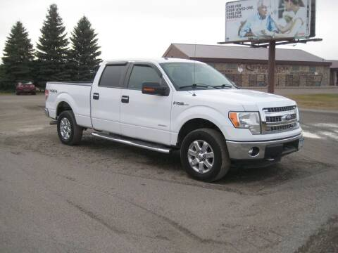 2014 Ford F-150 for sale at Rice Auto Sales in Rice MN