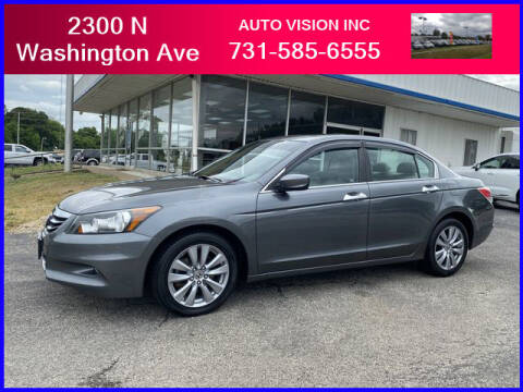 2012 Honda Accord for sale at Auto Vision Inc. in Brownsville TN