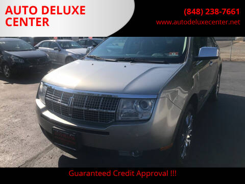 2008 Lincoln MKX for sale at AUTO DELUXE CENTER in Toms River NJ