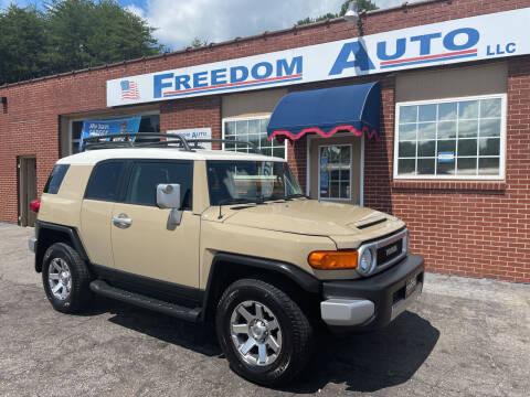 2014 Toyota FJ Cruiser for sale at FREEDOM AUTO LLC in Wilkesboro NC