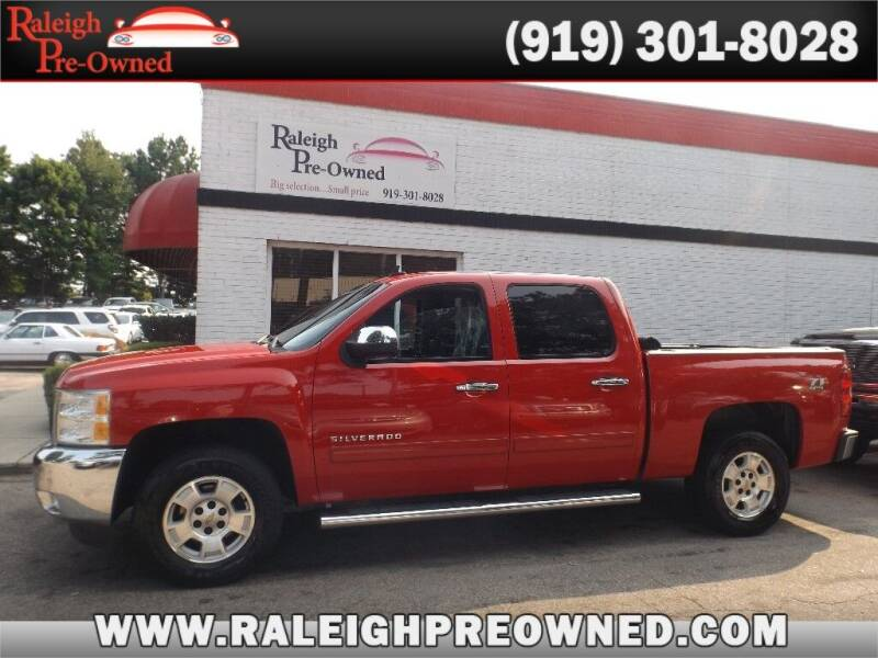 2013 Chevrolet Silverado 1500 for sale at Raleigh Pre-Owned in Raleigh NC