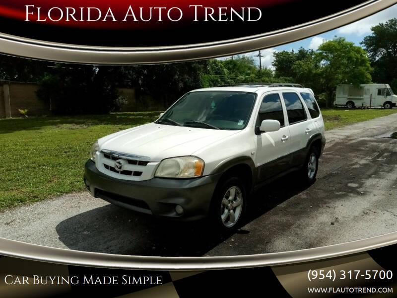 2006 Mazda Tribute for sale at Florida Auto Trend in Plantation FL