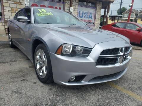 2014 Dodge Charger for sale at USA Auto Brokers in Houston TX