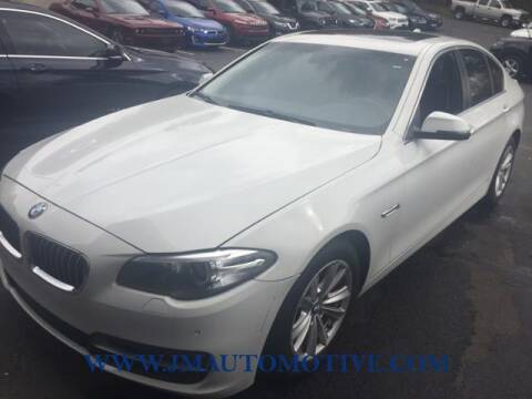 2014 BMW 5 Series for sale at J & M Automotive in Naugatuck CT