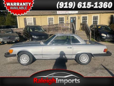1979 Mercedes-Benz 450 SL for sale at Raleigh Imports in Raleigh NC