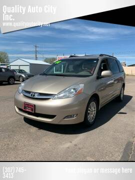 2008 Toyota Sienna for sale at Quality Auto City Inc. in Laramie WY