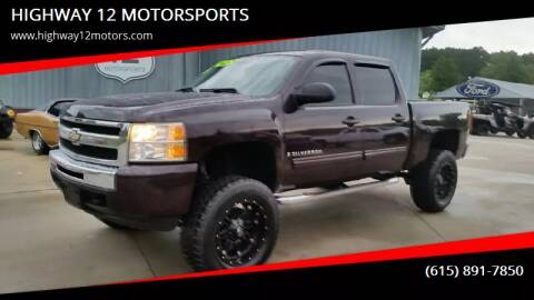 2009 Chevrolet Silverado 1500 for sale at HIGHWAY 12 MOTORSPORTS in Nashville TN