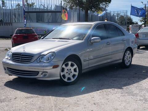 2005 Mercedes-Benz C-Class for sale at Pro Cars Of Sarasota Inc in Sarasota FL